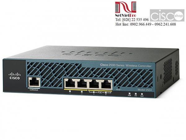 Thiết bị mạng Cisco AIR-CT2504-5-K9 đã qua sử dụng