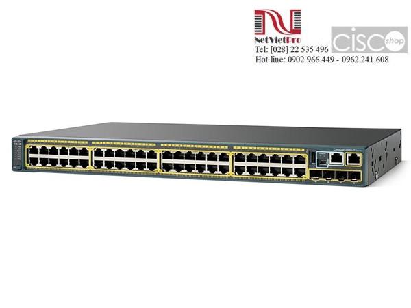Thiết bị mạng Cisco WS-C2960S-48TS-S đã qua sử dụng