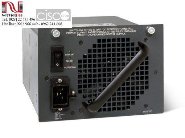 Thiết bị mạng nguồn Cisco PWR-C45-1400AC đã qua sử dụng