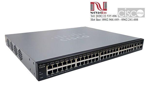 Thiết bị mạng Switch Cisco SF300-48PP đã qua sử dụng