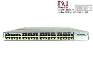 Thiết bị mạng Switch Cisco WS-C3750X-48P-S đã qua sử dụng