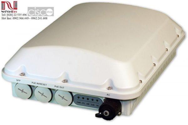 Mô tả tổng quan Access Point Ruckus 901-T750-WW01 Outdoor Wireless Các địa điểm ngoài trời như sân vận động, hội chợluônyêu cầu kết nối mạngkhông dây tốt trong môi trườngmật độ cao. Bộ phát wifi901-T750-WW01được trang bịtiêu chuẩn Wi-Fi 6 mới nhất, mang lạitốc độmulti-gigabit có thểnâng cao chất lượng dịch vụ cho người dùng. T750 cũng có tiêu chuẩnIP-67 để chịu đượcsự khắc nghiệt của thời tiết khi triển khai ngoài trời.  Ruckus T750 sử dụngbăng tần kép, đồng thờihỗ trợ tám luồng không gian (4 x 4: 4 vớicả 2 băng tần 5 GHz và2,4 GHz). Access point901-T750-WW01 được trang bị các công nghệ hàng đầu nhưOFDMA và MU-MIMO, quản lý hiệu quả tới 1.024 kết nối máy khách với dung lượng, tầm phủ sóngvàhiệu suất trong môi trường cực kỳ dày đặc. Ngoài ra, thiết bị cũng sử dụngcổngethernet 2,5 GbE nhằm giảm thiểu hiện thượngthắtcổ chai để sử dụng đầy đủ dung lượng WiFi có sẵn.  Thông số kỹ thuậtRuckus 901-T750-WW01 WI-FI Wi-Fi Standards• IEEE 802/11a/b/g/n/ac/ax Supported Rates • 802.11ax: 4 to 2400 Mbps • 802.11ac: 6.5 to 1732 Mbps • 802.11n: 6.5 to 600 Mbps • 802.11a/g: 6 to 54 Mbps • 802.11b: 1 to 11 Mbps  Supported Channels• 2.4GHz: 1-13 • 5GHz: 36-64, 100-144, 149-165 MIMO• 4×4 SU-MIMO • 4×4 MU-MIMO Spatial Streams• 4 for both SU-MIMO & MU-MIMO Radio Chains and Streams• 4×4:4 Channelization• 20, 40, 80, 160MHz Security• WPA-PSK, WPA-TKIP, WPA2 AES, WPA3, 802.11i, Dynamic PSK, OWE • WIPS/WIDS Other Wi-Fi Features• WMM, Power Save, Tx Beamforming, LDPC, STBC, 802.11r/k/v • Hotspot • Hotspot 2.0 • Captive Portal • WISPr RF Antenna Type• BeamFlex+ adaptive antennas with polarization diversity • Adaptive antenna that provides 4,000+ unique antenna patterns per band Antenna Gain (max)• Up to 3dBi Peak Transmit Power (Tx port/chain + Combining gain)• 2.4GHz: 26dBm • 5GHz: 28 dBm Frequency Bands• ISM (2.4-2.484GHz) • U-NII-1 (5.15-5.25GHz) • U-NII-2A (5.25-5.35GHz) • U-NII-2C (5.47-5.725GHz) • U-NII-3 (5.725-5.85GHz) PERFORMANCE AND CAPACITY Peak PHY Rates• 2.4GHz: 1148 Mbps • 5GHz: 