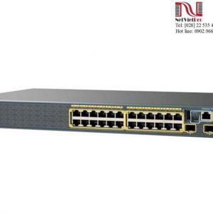 Thiết bị Switch Cisco Catalyst 2960 WS-C2960S-24TS-L đã qua sử dụng