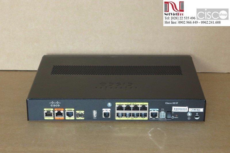 Thiết bị định tuyến Router Cisco C891F-K9 hàng sài rồi