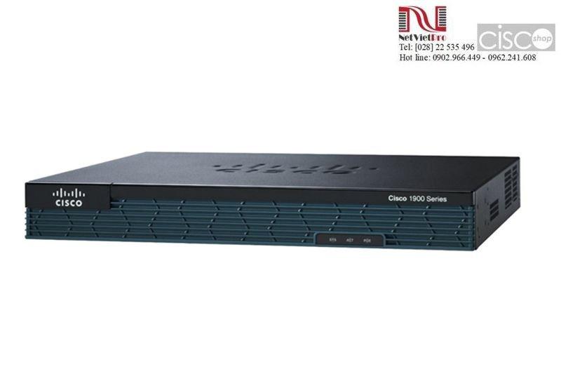 Thiết bị mạng Router Cisco 1921/K9 cũ đã qua sử dụng