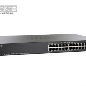 Thiết bị Switch Cisco SF200-24P cũ đã qua sử dụng